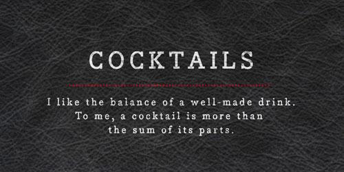 Mix Cocktails