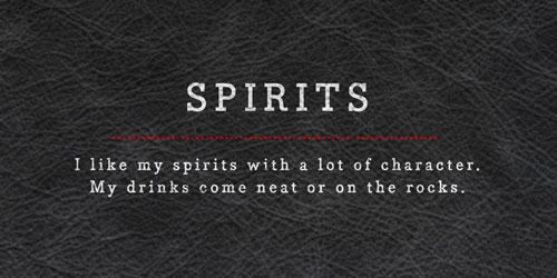 Discover Spirits